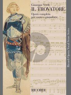 Verdi Il Trovatore Vocal Score (ital.) (Ricordi)