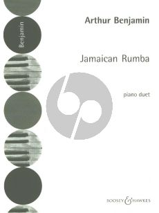 Benjamin Jamaican Rumba piano 4 hands