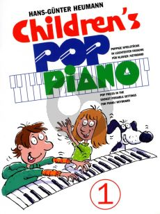 Heumann Childrens Pop Piano Vol.1 for Piano[Keyboard] (Easy)