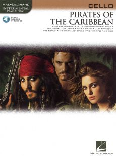 Pirates of the Caribbean for Cello (Bk-Audio Access Code)
