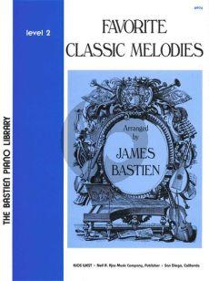 Bastien Favorite Classic Melodies Level 2 Piano