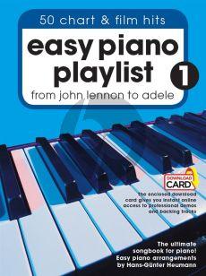 Easy Piano Playlist Vol.1 From John Lennon to Adele
