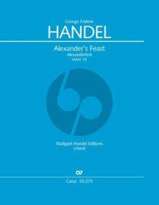 Handel Alexander's Feast Ode