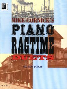 Cornick Piano Ragtime Duets (6 Pieces) (grade 3)