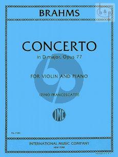 Concerto D-major Op.77 (Violin-Orch.)