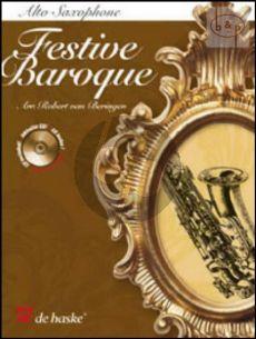 Festive Baroque (Alto Sax.-Organ[Piano]) (Book with Play-Along and Demo CD)