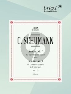 Schumann Sonate No.1 B-dur Op.112 (Clarinet-Piano) (edited by Nick Pfefferkorn)
