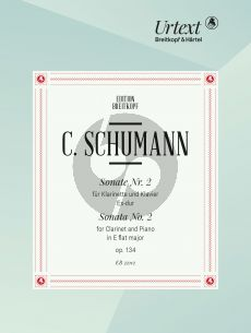 Schumann Sonate No.2 Es-dur Op.134 Clarinet-Piano (edited by Nick Pfefferkorn)