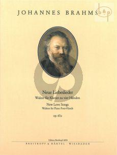 Neue Liebeslieder Op.65A