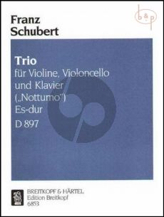"Schubert Trio ""Notturno"" Es-dur Op.Posth. D.897 (Violine-Violoncello-Klavier)"