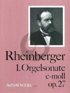 Rheinberger Sonate No. 1 c-moll Op.27 Orgel (Bernhard Billeter)