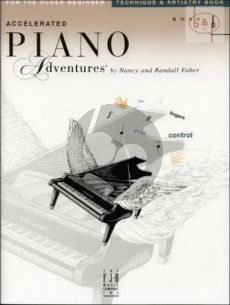 Accelerated Piano Adventures for the Older Beginner Technique and Artistry Book 1