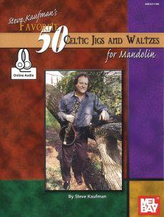 Steve Kaufman's Favorite 50 Celtic Jigs and Waltzes (Bk-Online Download)