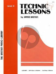Technic Lessons Level 4 piano