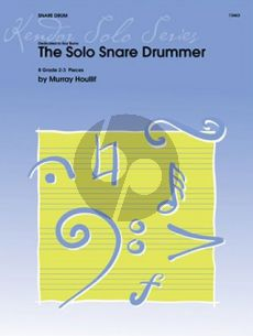 Houliff The Solo Snare Drummer (8 Pieces) (grade 2-3)