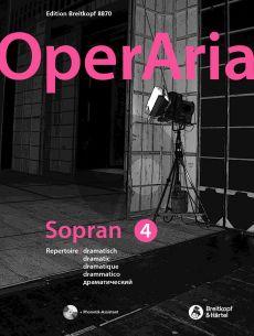 OperAria Soprano Vol.3 Dramatic Repertoire (edited by Peter Anton Ling and Marina Sandel)