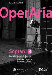 OperAria Soprano Vol.3 Dramatic/Coloratura Repertoire (edited by Peter Anton Ling and Marina Sandel)