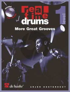 Oosterhout Real Time Drums - More Great Grooves Level 1 (Bk-Cd) (english)