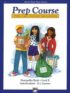 Notespeller Book Level E (for the Young Beginner)
