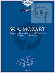 Concerto A-Major KV 414 (385p) (Piano-Orch.) (red. 2 piano's) (2 Parts Included)