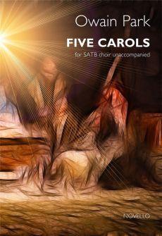 Park 5 Carols for SATB