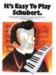 Schubert It's Easy to Play Schubert Piano (arr. Daniel Scott)
