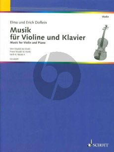 Doflein Musik Vol.4 (Duos for Violin and Piano up to the Classical Sonata)