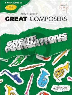 Great Composers (Flute/Oboe) (Bk-Cd)