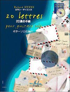 20 Lettres pour Guitare