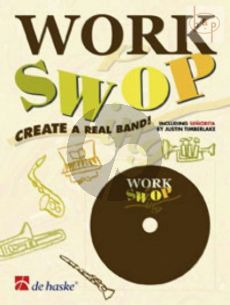 Work Swop (Tromb/Bar.[BC/TC]) (Bk-Cd) (Create a Real Band)