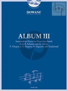 Album 3 voor Piano Vierhandig (Bk- 2 CD's)