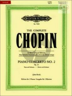 Chopin Concerto No.2 Op.21 f-minor Piano and -Orchestra (piano red.)