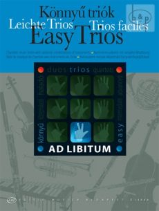 Easy Trios for mixed wind and or string instruments