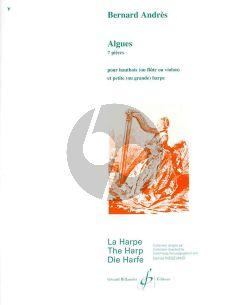 Andres Algues Flute [Oboe/Violin] -Harp (7 Pieces) (interm.level)