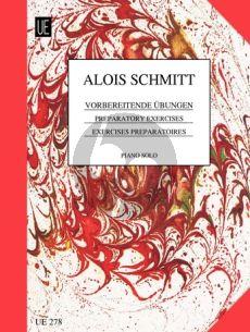 Schmitt Vorbereitende Ubungen (Preparatory Exercises) Op.16 Klavier (Universal)