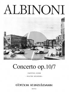 Albinoni Concerto F-dur Op.10 / 7 Violine-Streicher-Bc (Partitur) (Walter Kolneder)