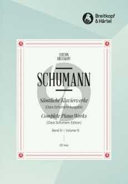 Schumann Klavierwerke Vol.3 (Clara Schumann) (herausgegeben von Wilhelm Kempf)