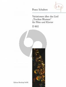 Variationen uber das Lied 'Trockne Blumen' (Op.Post.160 D 802)