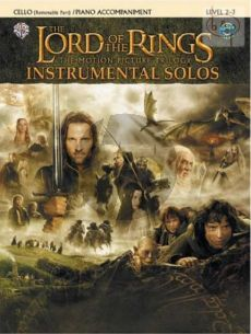 Lord of The Rings Trilogy for Cello with Piano Accompaniment