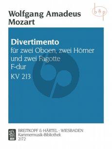 Divertimento F-dur KV 213