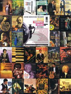Easy Trumpet Solos Vol.1 (Bk-Cd) (MMO Student Series) (Pianist Harriet Wingreen)