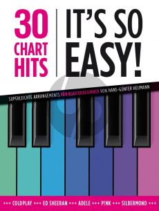 Heumann 30 Charthits - It's so easy! Piano