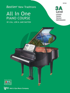 Bastien New Traditions All In One Piano Course - Level 3A
