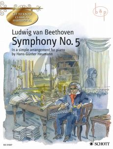 Beethoven Symphony No.5 c-minor Op.67 Piano (simple arr. by H.G.Heumann)