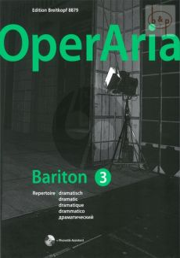OperAria Bariton Vol.3 Dramatic Repertoire