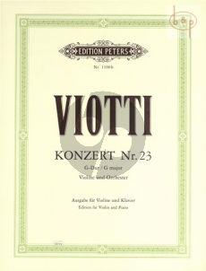 Konzert No.23 G-dur