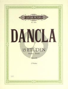 Dancla 15 Etuden Op.68 (Edition for Viola)