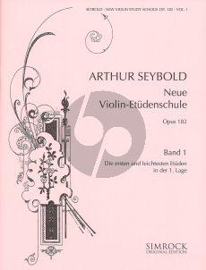 Seybold Neue Violin-Etuden Op.182 Vol.1 (1st.pos.)