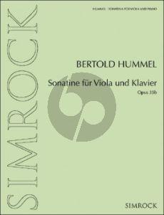 Hummel Sonatina Op. 35b Viola and Piano