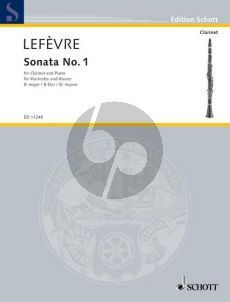 Lefevre Sonata No.1 (from Methode de Clarinette) Klarinette-Klavier (Georgina Dobree)